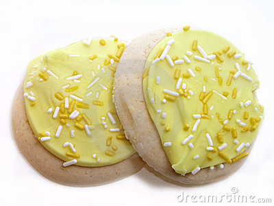 Lemon Frosted Sugar Cookies