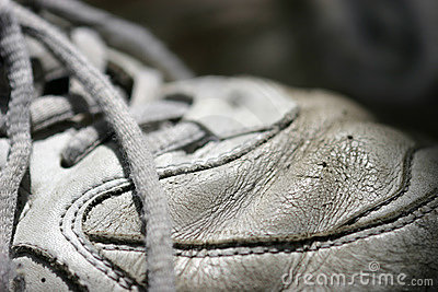 Old tennis Shoe