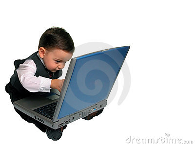 Little Man Series: Checking Email?