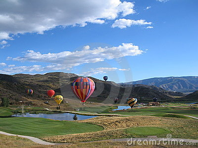 Hot Air Balloons in Snowmass