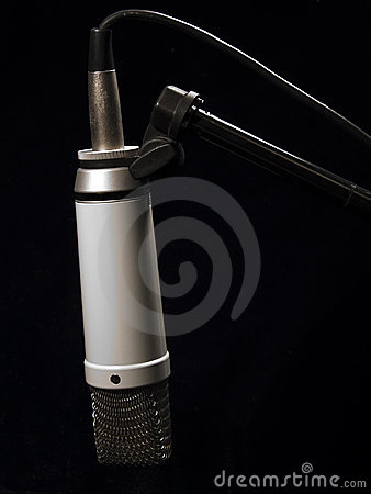 Music: Studio Mic on Stand
