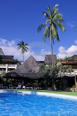 Tropical Resort, Tahiti.