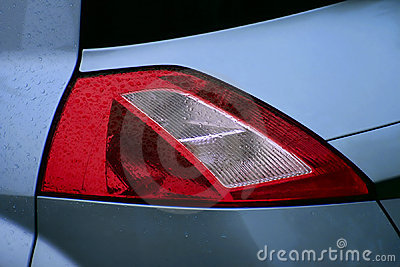 Renault Megane II rear lamp