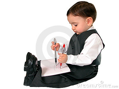Little Business Man Series: Ambidextrous