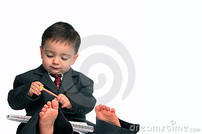 Little Man Series: Barefoot & Business (1 of 2)