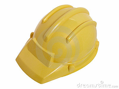 Toys: Yellow Construction Helmet