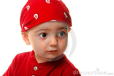 Children:  Boy Wearing Do Rag
