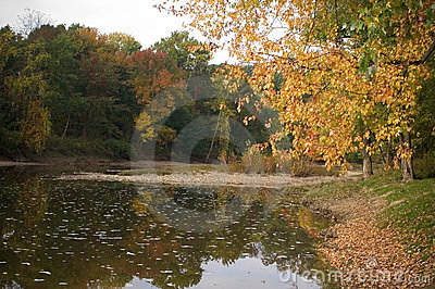 Grande River in Early Fall