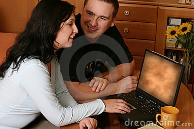 Couple Browsing WWW