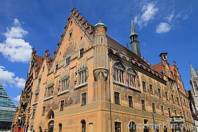 Medieval town hall of Ulm
