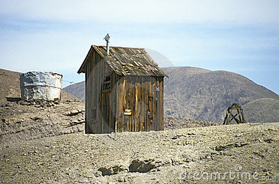 Calico Ghosttown - cabin