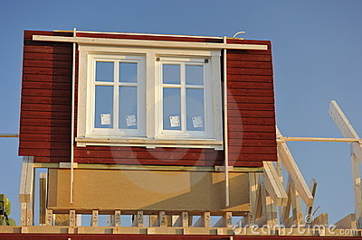 Prefabricated House under Construction