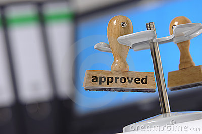 Approved approval