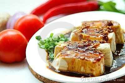 Tofu In Soy Sauce
