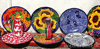 Handicrafts of taxco guerrero, mexico