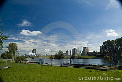 stock image of view of venlo, the netherlands