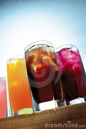 Chilled cooling drinks