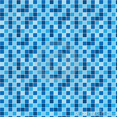 Illustration vector background pattern blue tiles texture