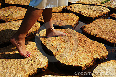 Stepping on Stones
