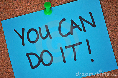 You Can Do It! Note on Pinboard