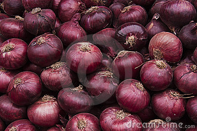 Red Onions Crop Texture