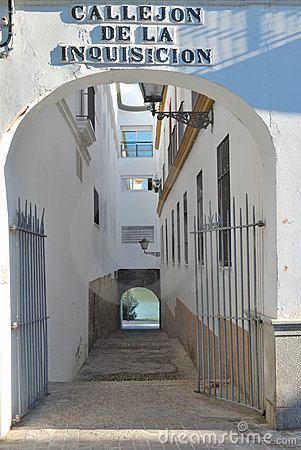 The Alley of the inquisition