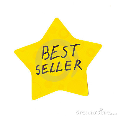 Best seller sticker