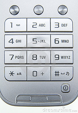 Mobile phone keyboard