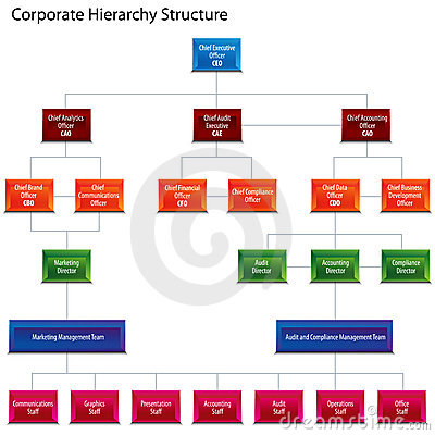 Corporate hierarchy structure chart maxwellsz