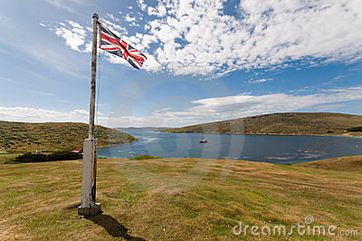 West Island in the Falklands
