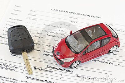 Car loan application form