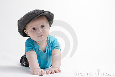 Baby boy with hat
