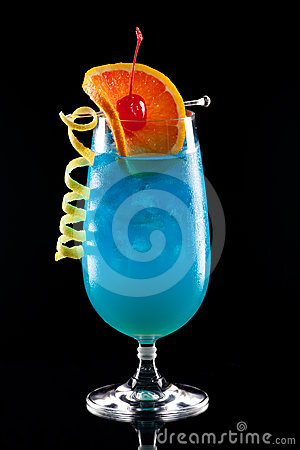 Blue Lagoon - Most popular cocktails series