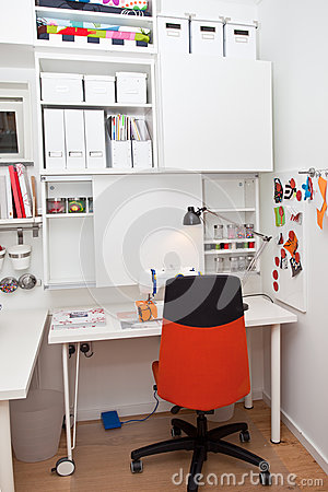 stock image of hobbies room interior