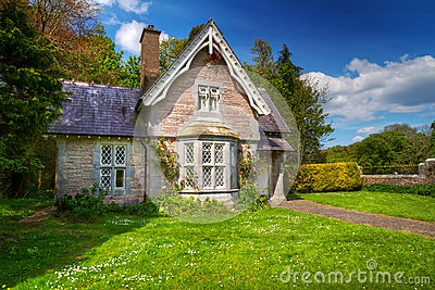 Fairy tale cottage house