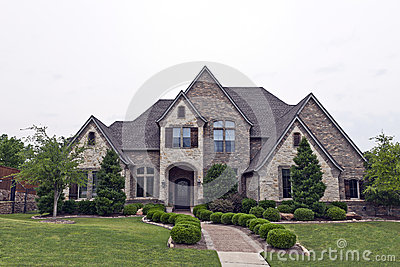 Luxury Brick Stone House