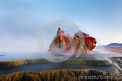 Sometimes We Fly, Fly Geyser