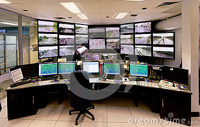 Traffic Control Command Center