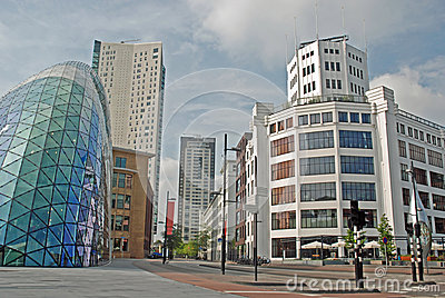 Eindhoven Centre - Light Tower, Blob, Admirant