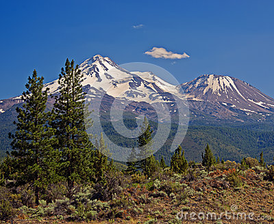 Mount Shasta, Cascade Mountains, California