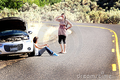 Stranded Car Trouble