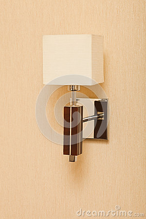 Sconce on the wall
