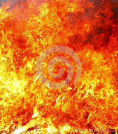 Fire inferno background