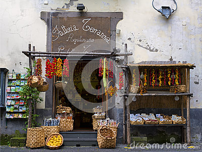 Agricultural Products Store, Sorrento Italy
