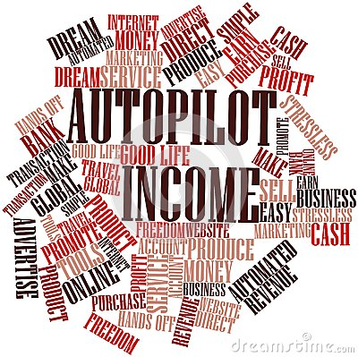 Word cloud for Autopilot Income