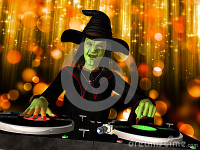 Wicked Witch DJ