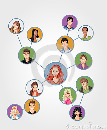 Young people connected