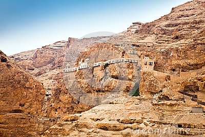 Mount of Temptation, Jericho, West Bank, Israel