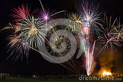 Firework Display - 5th November - England