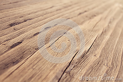 Wood Texture, Wooden Grain Background, Desk in Perspective Close Up, Striped Timber